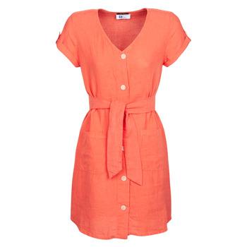 Υφασμάτινα Γυναίκα Κοντά Φορέματα One Step RONIN Orange