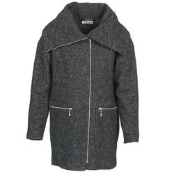 Υφασμάτινα Γυναίκα Παλτό Noisy May ROUND Grey / Black