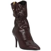 Παπούτσια Γυναίκα Μπότες για την πόλη Elvio Zanon COBRINO PRUGNA Rosso