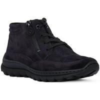 Παπούτσια Γυναίκα Ψηλά Sneakers Ara VELOUR BLAU Blu