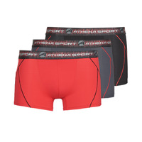 Εσώρουχα Άνδρας Boxer Athena TRAINING PACK X3 Black / Red / Grey