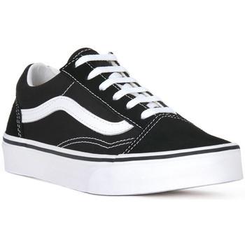 Παπούτσια Άνδρας Χαμηλά Sneakers Vans OLD SKOOL VELCRO Nero