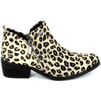 Παπούτσια Γυναίκα Μπότες Les Tropéziennes par M Belarbi LES TROPÉZIENNES Lettya leopard Multicolour