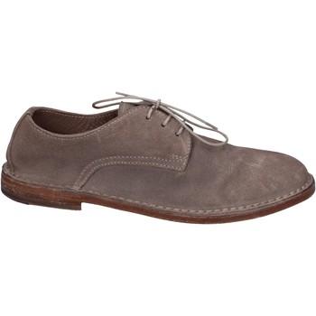 Παπούτσια Γυναίκα Derby Moma Κλασσικός BR977 Γκρί
