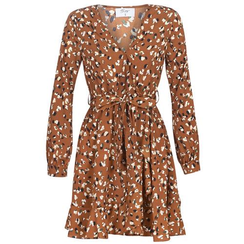 Υφασμάτινα Γυναίκα Κοντά Φορέματα Betty London LISONS Brown