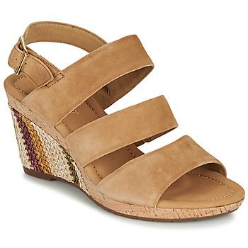 Παπούτσια Γυναίκα Σανδάλια / Πέδιλα Gabor KARAMBA Brown