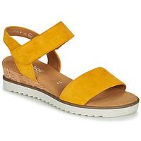 Παπούτσια Γυναίκα Σανδάλια / Πέδιλα Gabor KARIBITOU Yellow