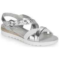 Παπούτσια Γυναίκα Σανδάλια / Πέδιλα Gabor KRIZI Silver