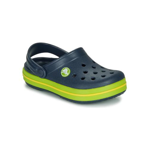 Παπούτσια Παιδί Σαμπό Crocs CROCBAND CLOG K Marine / Green