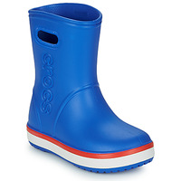 Παπούτσια Παιδί Μπότες βροχής Crocs CROCBAND RAIN BOOT K Μπλέ / Red