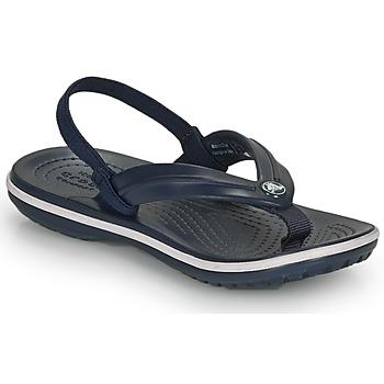 Παπούτσια Παιδί Σανδάλια / Πέδιλα Crocs CROCBAND STRAP FLIP K Marine