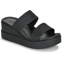 Παπούτσια Γυναίκα Σανδάλια / Πέδιλα Crocs CROCS BROOKLYN MID WEDGE W Black