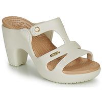 Παπούτσια Γυναίκα Τσόκαρα Crocs CYPRUS V HEEL W Άσπρο
