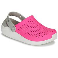 Παπούτσια Κορίτσι Σαμπό Crocs LITERIDE CLOG K Ροζ / Άσπρο