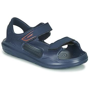 Παπούτσια Παιδί Σπορ σανδάλια Crocs SWIFTWATER EXPEDITION SANDAL K Marine