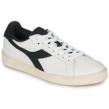 Παπούτσια Χαμηλά Sneakers Diadora GAME L LOW USED Άσπρο / Black