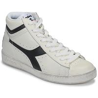 Παπούτσια Ψηλά Sneakers Diadora GAME L HIGH WAXED Άσπρο / Black