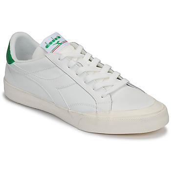 Παπούτσια Γυναίκα Χαμηλά Sneakers Diadora MELODY LEATHER DIRTY Άσπρο / Green