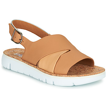 Παπούτσια Γυναίκα Σανδάλια / Πέδιλα Camper TWINS Nude / Άσπρο