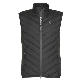 Υφασμάτινα Άνδρας Μπουφάν Emporio Armani EA7 TRAIN CORE SHIELD M DOWN LIGHT VEST Black