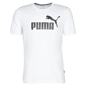 Υφασμάτινα Άνδρας T-shirt με κοντά μανίκια Puma ESSENTIAL TEE Άσπρο