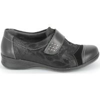 Παπούτσια Derby & Richelieu Boissy Derby 7510 Noir Texturé Black