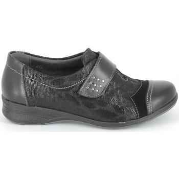 Παπούτσια Πόλης Boissy Derby 7510 Noir Texturé