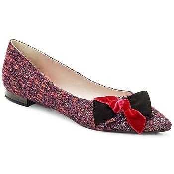 Παπούτσια Γυναίκα Μπαλαρίνες Magrit Rosy Knot Multicolore / Ροζ