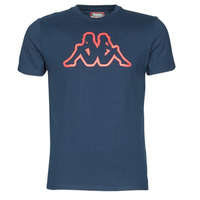 Υφασμάτινα Άνδρας T-shirt με κοντά μανίκια Kappa CROMEN SLIM Μπλέ