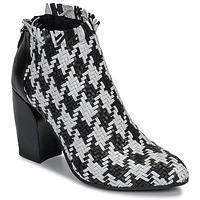 Παπούτσια Γυναίκα Χαμηλές Μπότες Mimmu JESTINE Black / Άσπρο