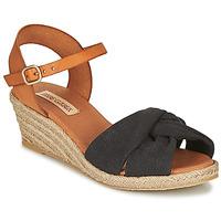 Παπούτσια Γυναίκα Σανδάλια / Πέδιλα Pare Gabia BILMI Black / Brown