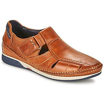 Παπούτσια Άνδρας Σανδάλια / Πέδιλα Fluchos JAMES Brown / Marine / Red