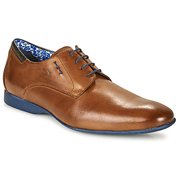 Παπούτσια Άνδρας Derby Fluchos VESUBIO Brown / Μπλέ