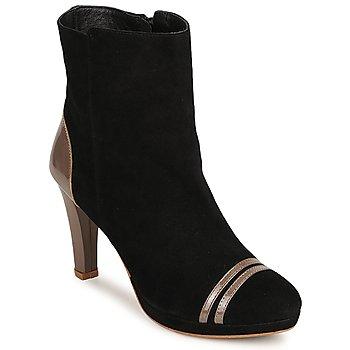 Παπούτσια Γυναίκα Μποτίνια C.Petula KIMBER Black