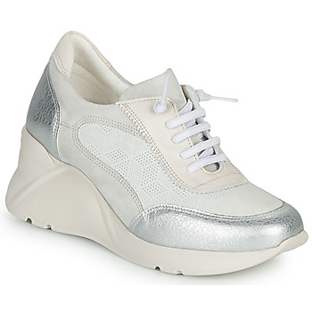 Παπούτσια Γυναίκα Χαμηλά Sneakers Hispanitas TOKIO Άσπρο / Argenté