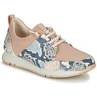 Παπούτσια Γυναίκα Χαμηλά Sneakers Hispanitas KIOTO Beige / Μπλέ