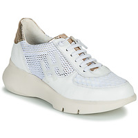 Παπούτσια Γυναίκα Χαμηλά Sneakers Hispanitas CUZCO Άσπρο / Gold / Ροζ
