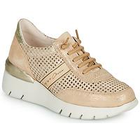 Παπούτσια Γυναίκα Χαμηλά Sneakers Hispanitas RUTH Ροζ / Gold / Άσπρο