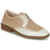 Παπούτσια Γυναίκα Derby Hispanitas LONDRES Beige / Άσπρο