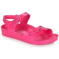 Παπούτσια Κορίτσι Σανδάλια / Πέδιλα Birkenstock RIO EVA Pink