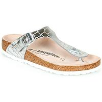 Παπούτσια Γυναίκα Σαγιονάρες Birkenstock GIZEH Ασημι