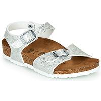 Παπούτσια Κορίτσι Σανδάλια / Πέδιλα Birkenstock RIO Ασημι