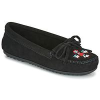 Παπούτσια Γυναίκα Μοκασσίνια Minnetonka THUNDERBIRD II Black