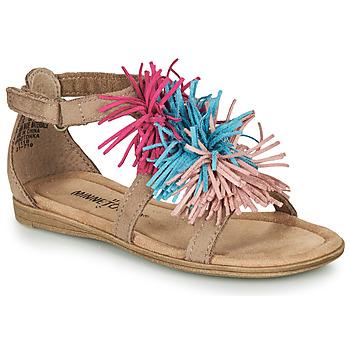 Παπούτσια Κορίτσι Σανδάλια / Πέδιλα Minnetonka ELOISE Taupe
