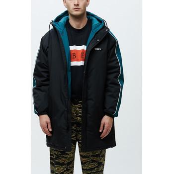 Υφασμάτινα Άνδρας Αντιανεμικά Obey Major stadium jacket Μαύρο