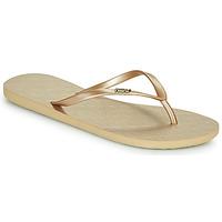 Παπούτσια Γυναίκα Σαγιονάρες Roxy VIVA V Gold