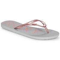 Παπούτσια Γυναίκα Σαγιονάρες Roxy VIVA SPARKLE Grey / Ροζ