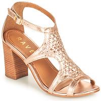 Παπούτσια Γυναίκα Σανδάλια / Πέδιλα Ravel COREEN Ροζ / Gold