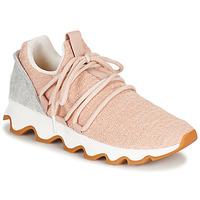 Παπούτσια Γυναίκα Χαμηλά Sneakers Sorel KINETIC LACE Ροζ