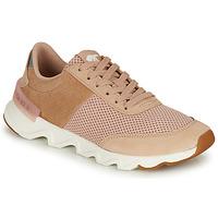 Παπούτσια Γυναίκα Χαμηλά Sneakers Sorel KINETIC LITE LACE Beige / Ροζ